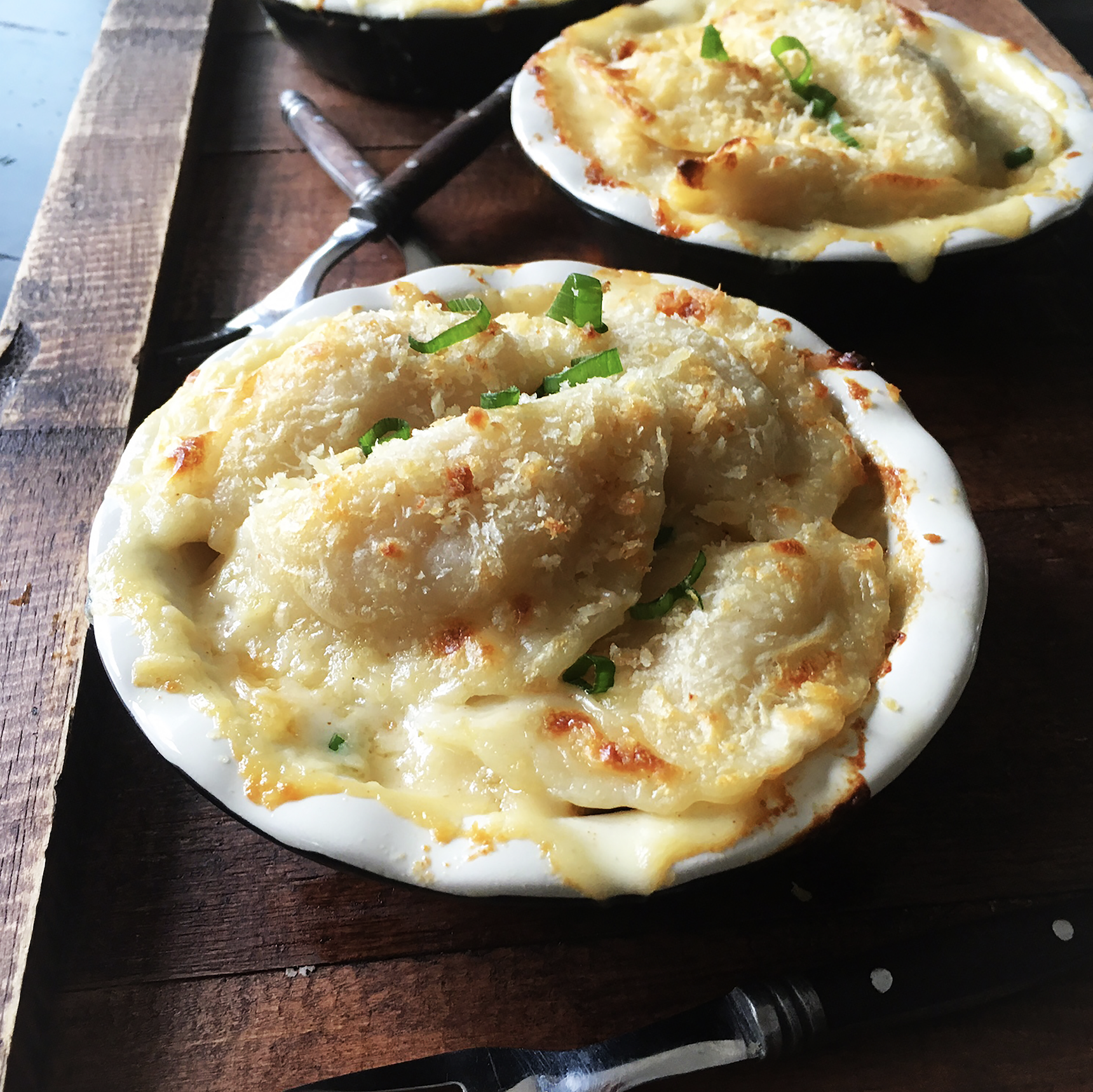 Pierogi Mac & Cheese